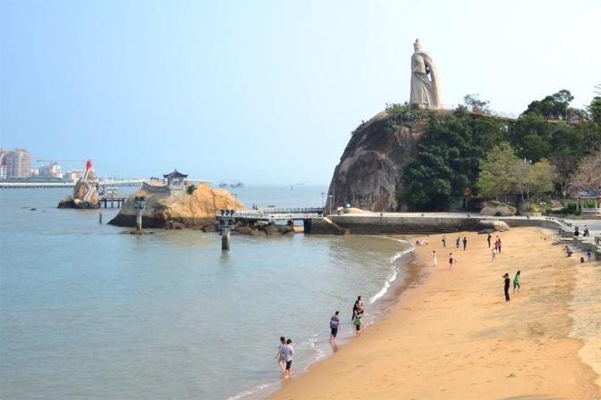 La isla colonial de Gulangyu