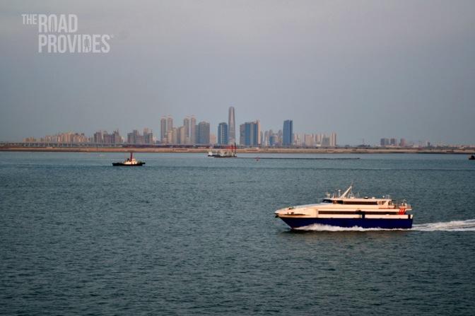 Navegando el Mar Amarillo