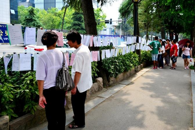 Vendiendo hijos en China