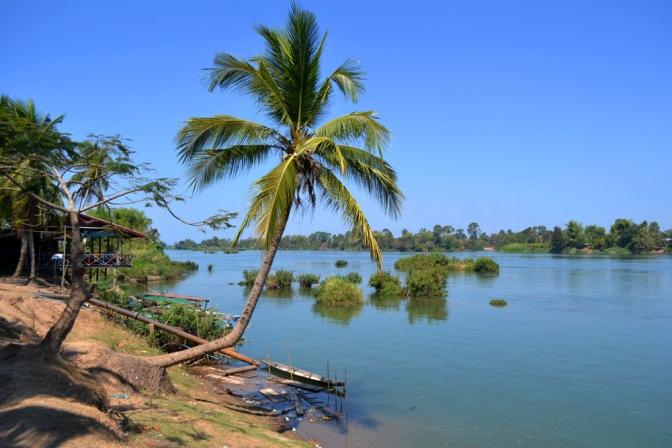 Don Det, una isla en el Mekong