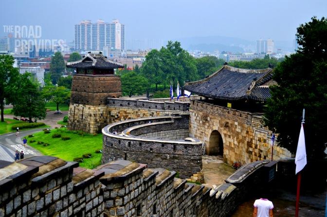 Una fortaleza UNESCO en Suwon