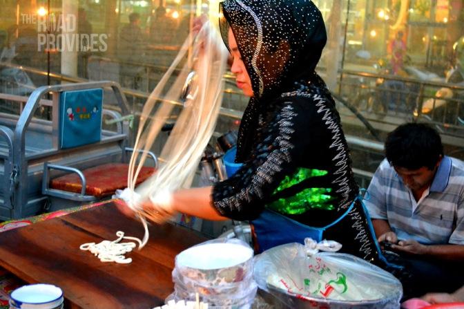 Gastronomía en Xinjiang