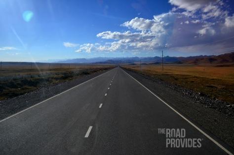 carretera hacia Osh