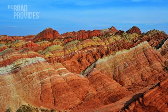 Zhangye Danxia, las montañas de colores