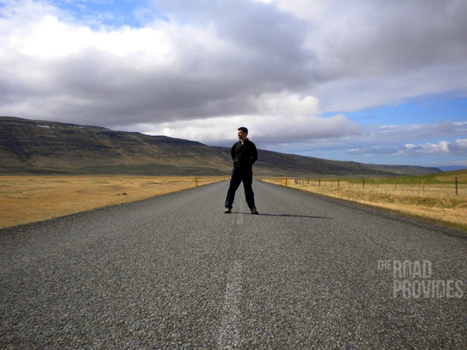 Carretera entre volcanes