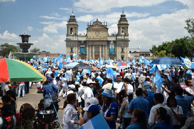 Guatemala se levanta
